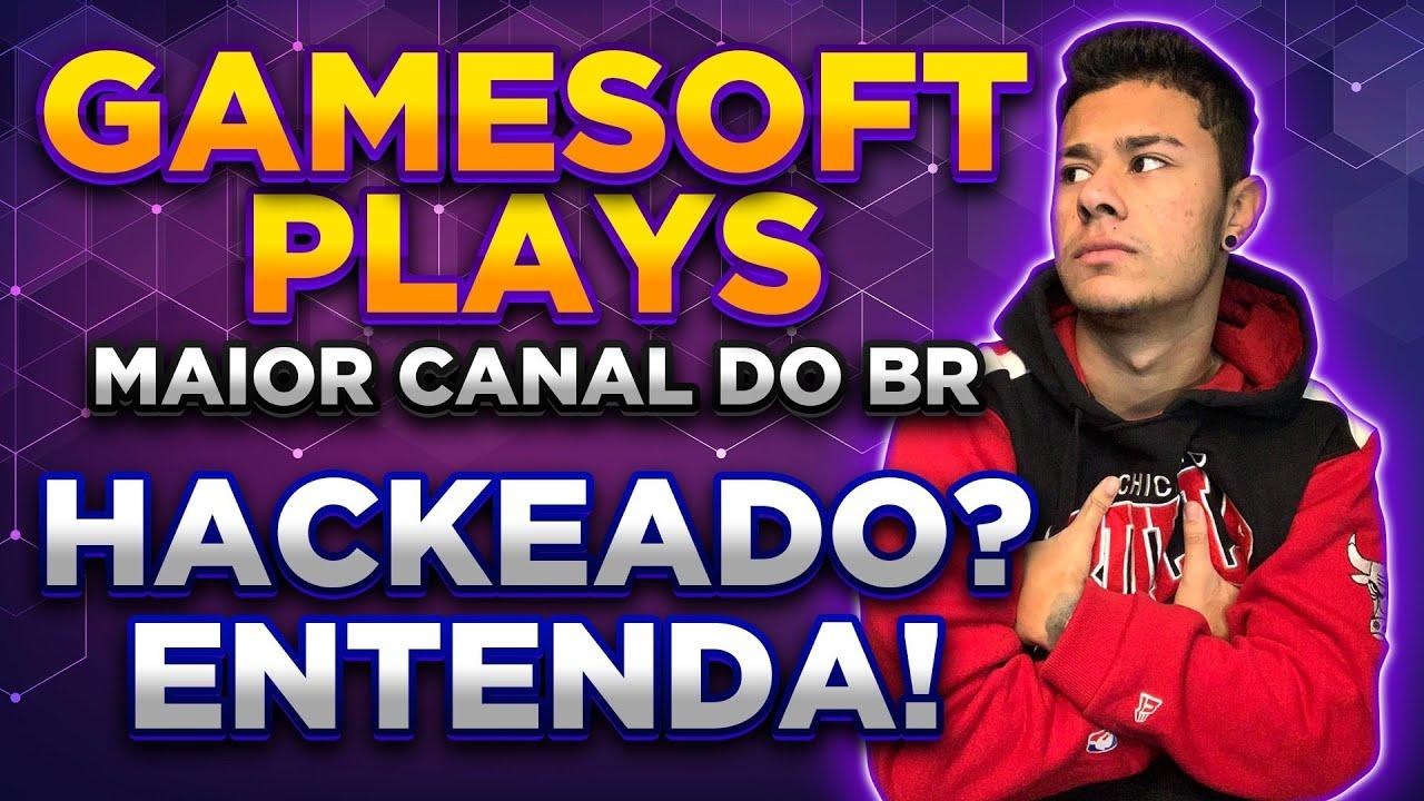 GAMESOFTPLAYS FOI HACKEADO! EXPLICAÇÃO COMPLETA DO GUILHERME SOBRE O QUE ACONTECEU COM O CANAL!
