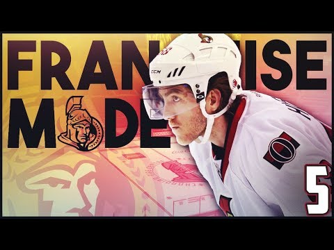 "NHL 18 - Ottawa Senators Franchise Mode #5 ""Postseason Bound?"""