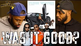 Dj Mustard Feat. Migos PURE WATER REVIEW AND REACTION MALLORYBROS 4K.mp3