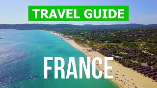 Beaches of France   Corsica, Provence, Normandy, Brittany, Aquitaine, Cote d'Azur   4k video