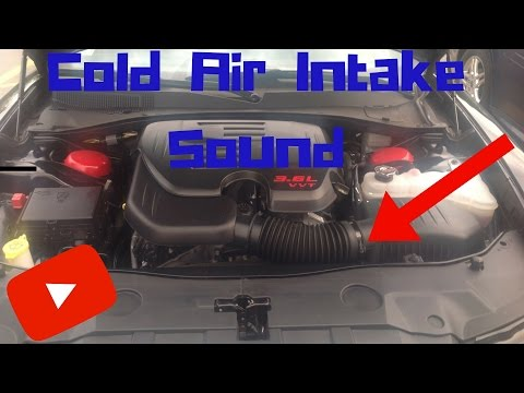 Dodge Charger Air Intake Snorkel Removed