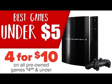 Best PS3 Games Under $5 - GameStop 4 for $10 Deal