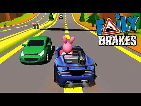 Отказали тормоза #31 Faily Brakes ГОНКИ детский летсплей ВИДЕО про машинки VIDEO FOR KIDS cars game