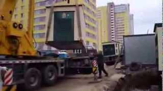 Установка трансформаторной подстанции типа 2КТП-БК-1600 кВА. ООО