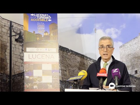 VÍDEO: Lucena venderá en FITUR su potencialidad como destino turístico sin barreras arquitectónicas.
