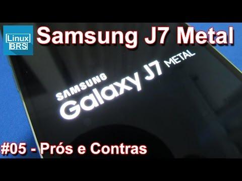Samsung Galaxy J7 2016 Metal - Prós e Contras - Português