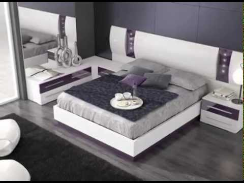 Cabezales de cama con dise os modernos y actuales youtube - Camas modernas para jovenes ...