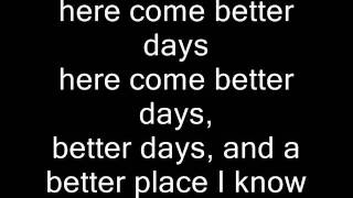 Robbie Seay Band-Better Days