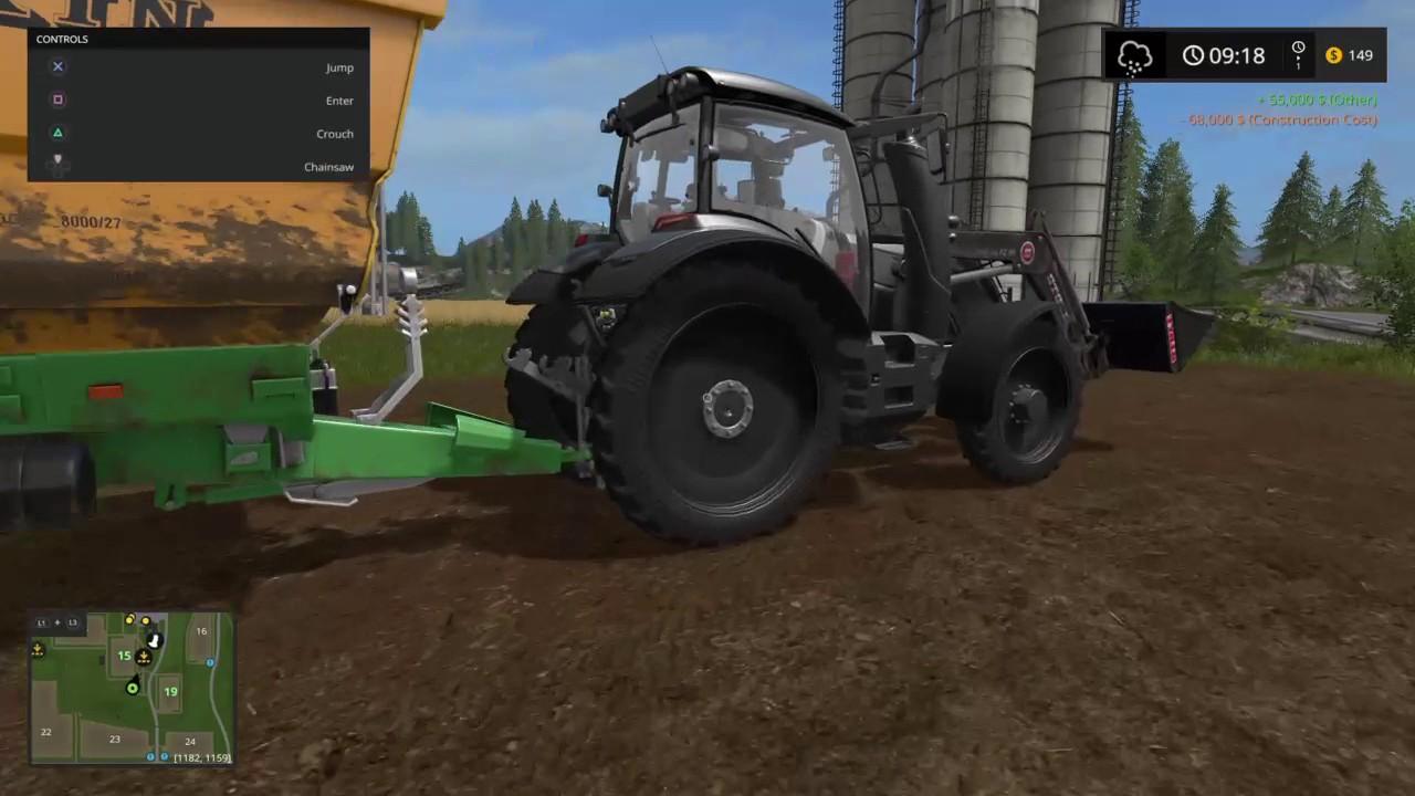 Farming Simulator 17 ( ファーミングシミュレーター17) #5 [JPN/PS4] 自動 ...