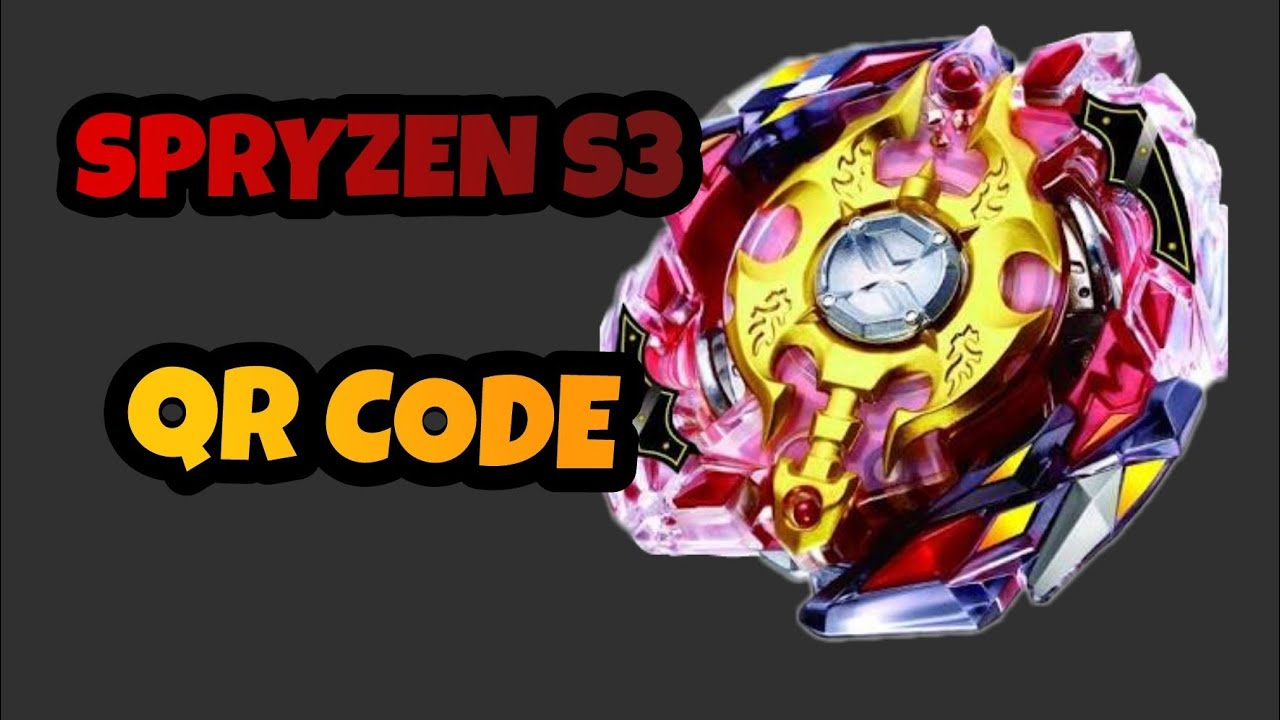 Evolution S3 Spryzen Qr Beyblade Code Burst