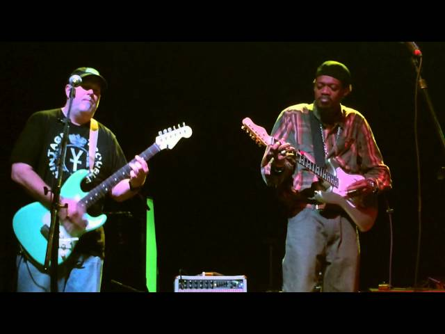 Eric Gales with Lawyers Guns & Money live