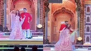 Aishwarya Rai Bachchan And Abhishek Bachchan's Romantic Dance At Isha Ambani's Sangeet Ceremony