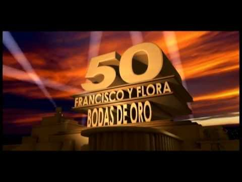 50th century fox intro para video matrimonial 50 a241os