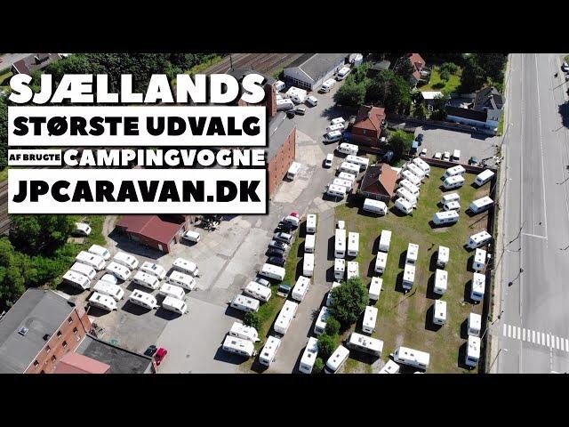Sjællands største udvalg af brugte campingvogne