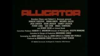 Alligator (1980) - Trailer