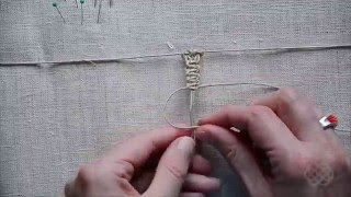 Macrame first steps, basic knots #1 (Square Knot)
