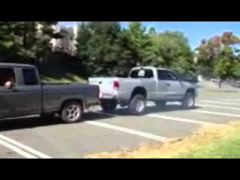 dodge dakota vs ford ranger 2 ford ranger vs 2 dodge Dakota - YouTube