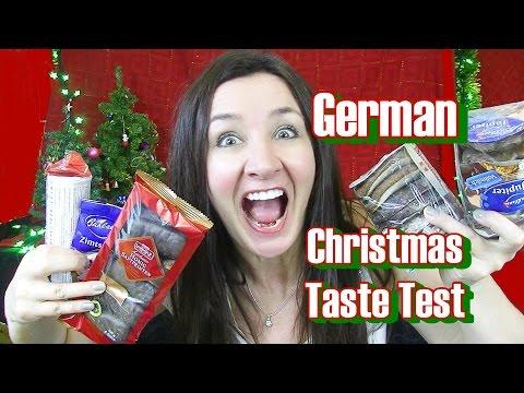 German Christmas Taste Test
