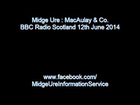 Midge Ure : Fred MacAulay interview  12th June 2014