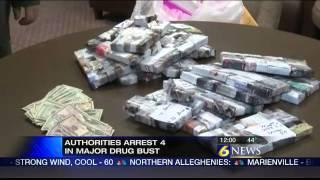 Four arrested in major drug bust