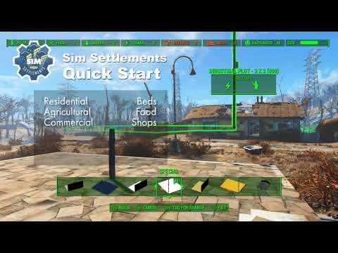 Sim Settlements: Quick Start (Updated August 2018)