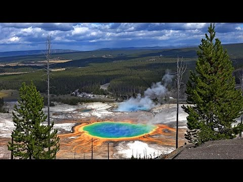 Yellowstone National Park, USA in 4K (Ultra HD)
