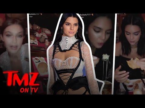Victoria Secret Models Pig Out | TMZ TV