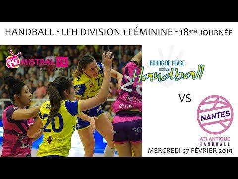 2019 02 27 Handball   Championnat D1F LFH 18ème journée   BDPDH vs NANTES