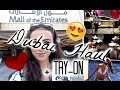 Dubai haul + Try-on (Victoria's Secret, Topshop & more)
