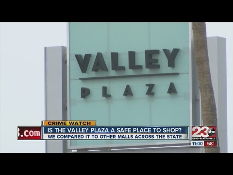 Is the Valley Plaza Mall a safe place to shop?