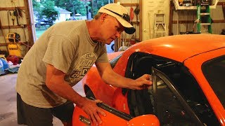 DESTROYING MY DAD'S ANTIQUE CAR! (REAL)