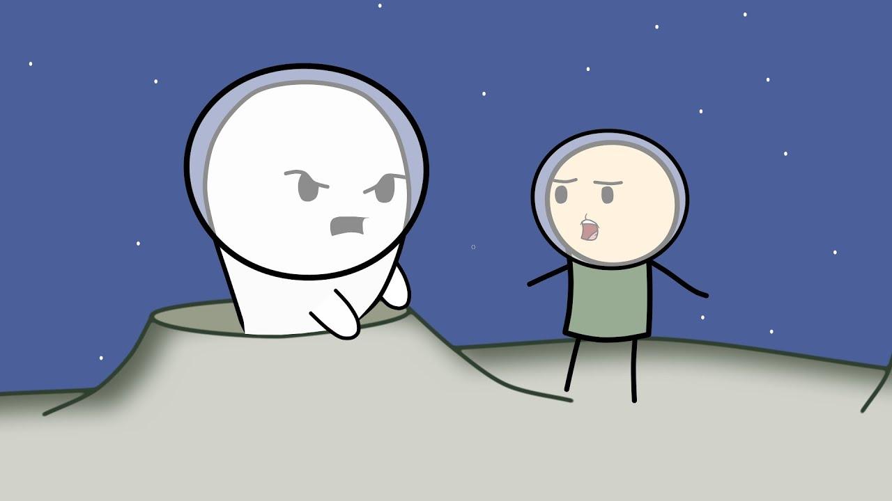 Мультфильм: Приведения против людей - Level Up. Mult-uroki.ru