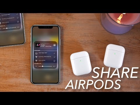 Pair Multiple AirPods to iPhone with iOS 13 (Share Audio)