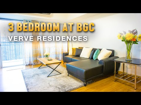 3 Bedroom unit for Sale at Verve One Residences