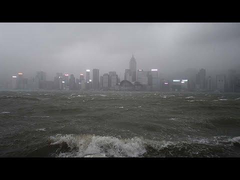 Typhoon Hato devastates parts of southern China