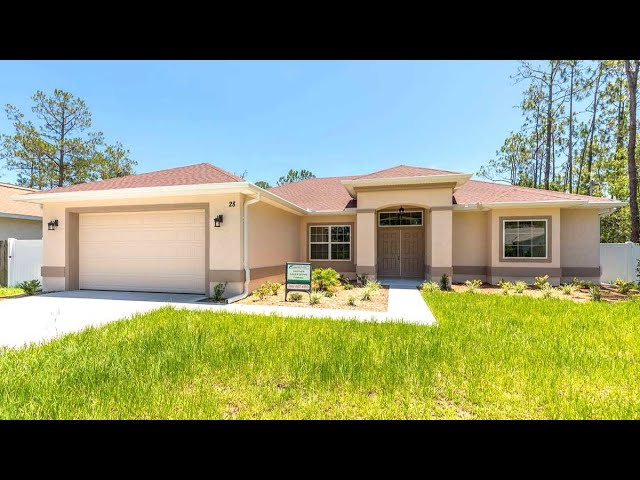 Model Andrea. Certified Green Home. Palm Coast, Florida.