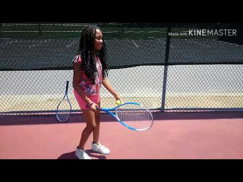The next Serena Williams? Practice makes perfect