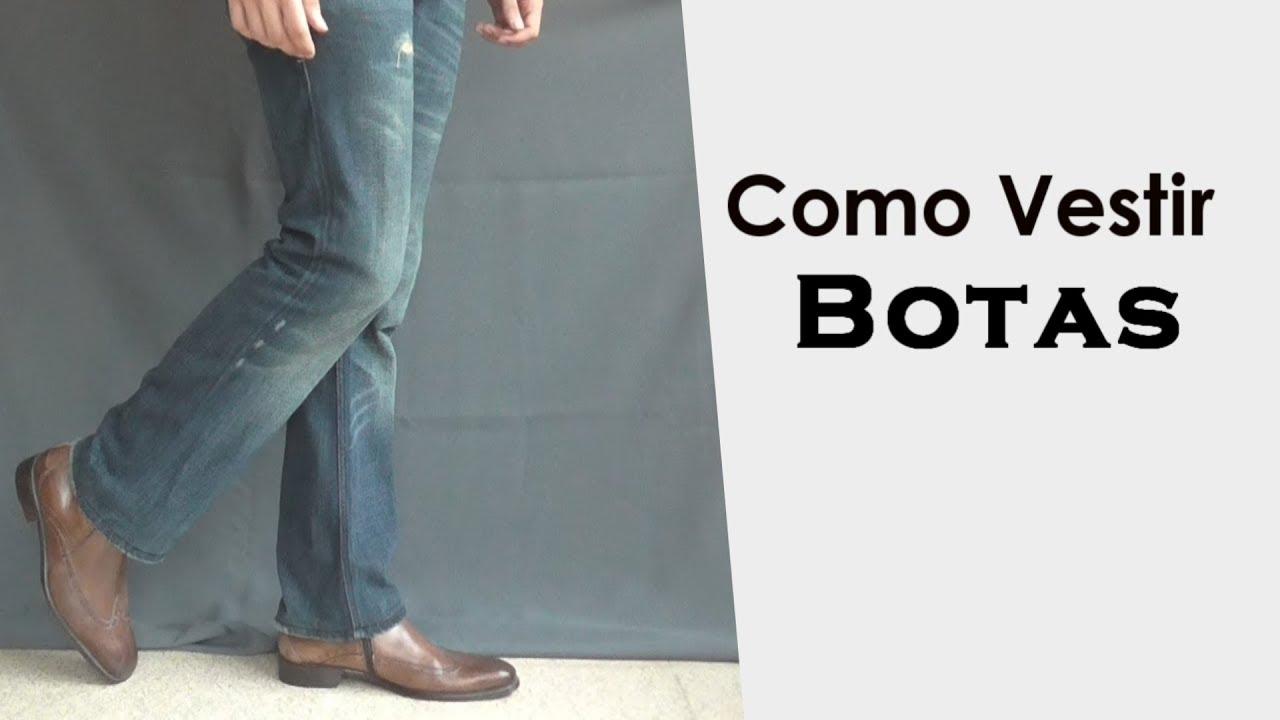 comprar online 7c8aa 06a21 Como Vestir Botas Para Hombre // Botas Chelsea