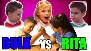 Ninja Kidz Rita vs Bulk!!! Vlog #10