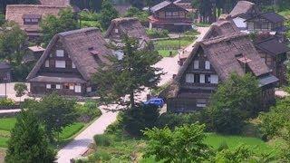 世界文化遺産 越中五箇山 相倉合掌造り集落