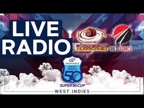 🔴LIVE RADIO Leeward Islands vs Trinidad & Tobago | CG Insurance Super50 Cup
