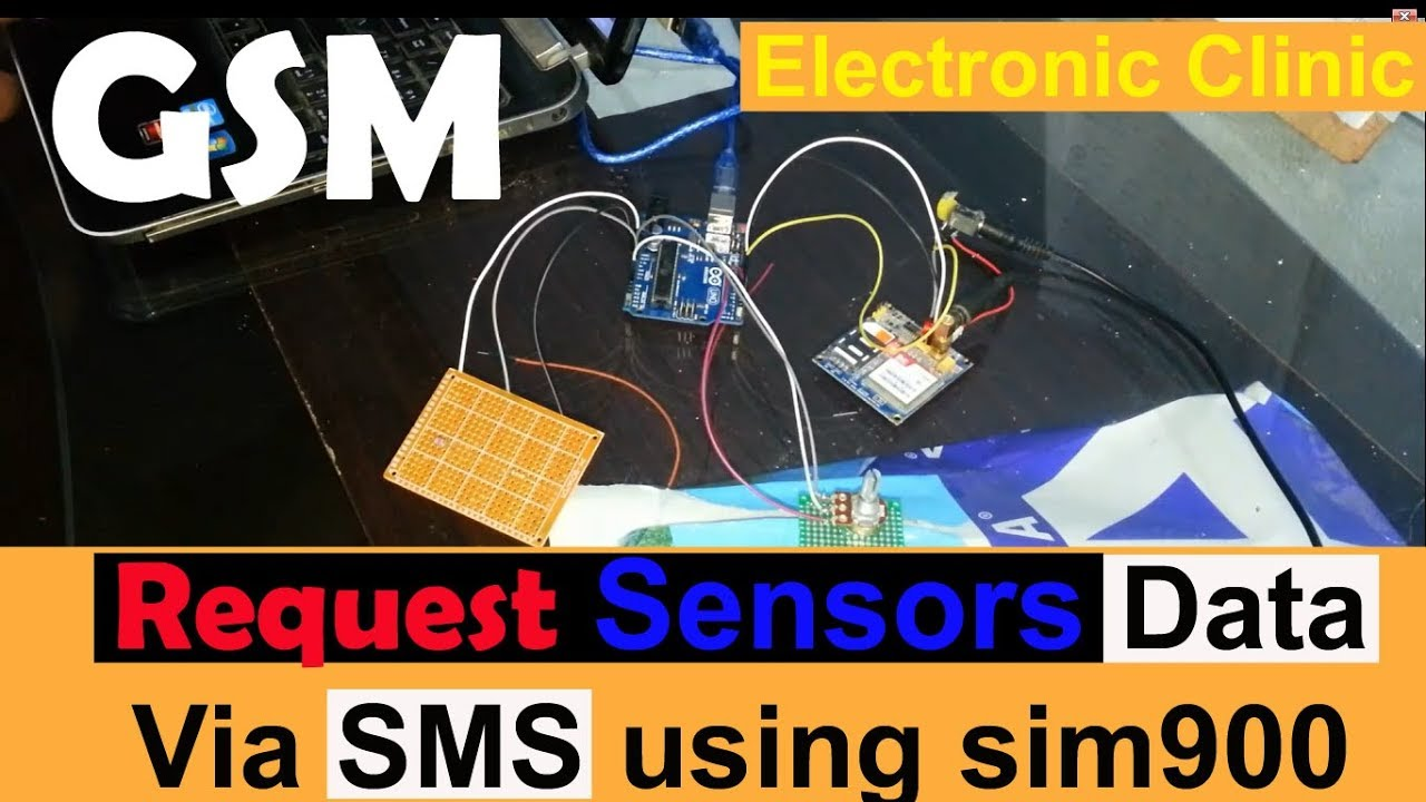 Arduino Project How To Request Sensors Data Using Gsm Sim900a Pwm Charge Controller V2 Veroboard V3 Sim900d