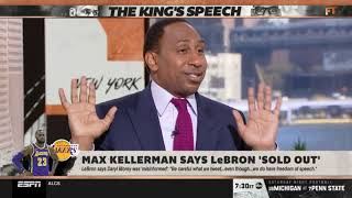 Max Kellerman says LeBron 'sold out' | First Take