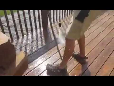 Deck Staining Project - Cleveland, Ohio