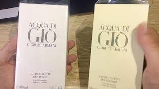 Review Nước Hoa Nam Acqua Di Giò nhập khẩu chính hãng