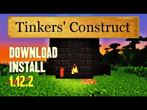 TINKERS CONSTRUCT MOD 1.12.2 minecraft - how to download and install tinkers construct 1.12.2