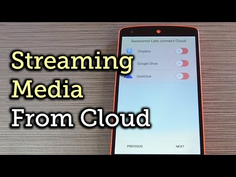 Stream Music & Videos Directly from Your Cloud Accounts on Android [How-To]