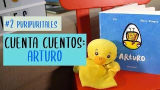 """Cuenta cuentos Puri Puri Tales """"Arturo"""""""