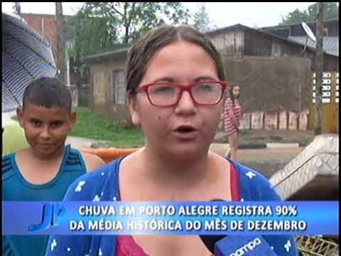 Chuva em Porto Alegre registra 90% da média histórica de dezembro | Jornal da Pampa | 07/12/2017