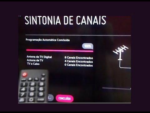 SINTONIA DE CANAL DIGITAL COMO SINTONIZAR A SMART TV LG